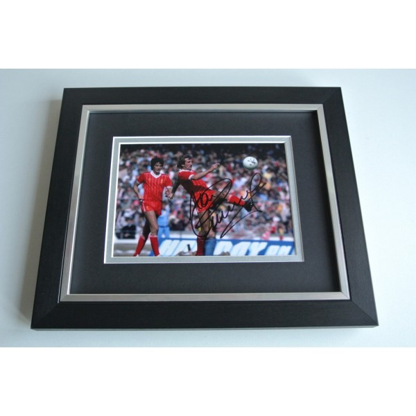 Alan Kennedy SIGNED 10X8 FRAMED Photo Autograph Display Liverpool Football AFTAL & COA Memorabilia PERFECT GIFT