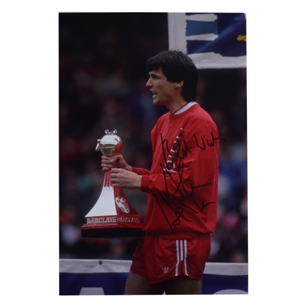 Alan Hansen SIGNED 12x8 Photo Autograph Liverpool Football  AFTAL  COA Memorabilia PERFECT GIFT
