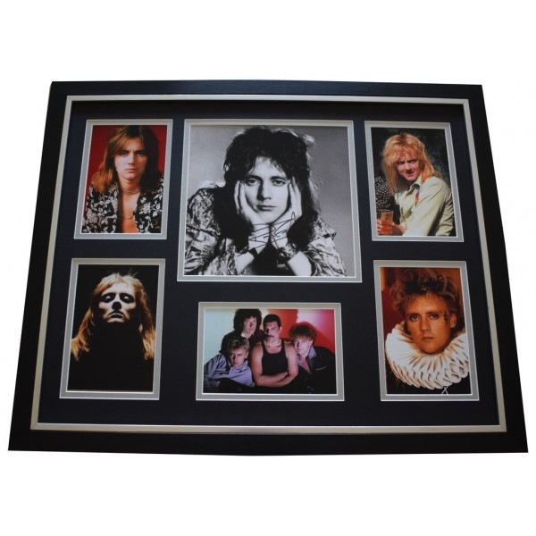 Roger Taylor SIGNED Framed Photo Autograph Huge display Music Queen   AFTAL &  COA Memorabilia PERFECT GIFT