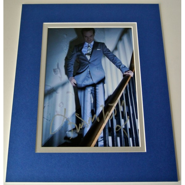 Andrew Scott Signed Autograph 10x8 photo mount display TV Sherlock Moriarty COA PERFECT GIFT