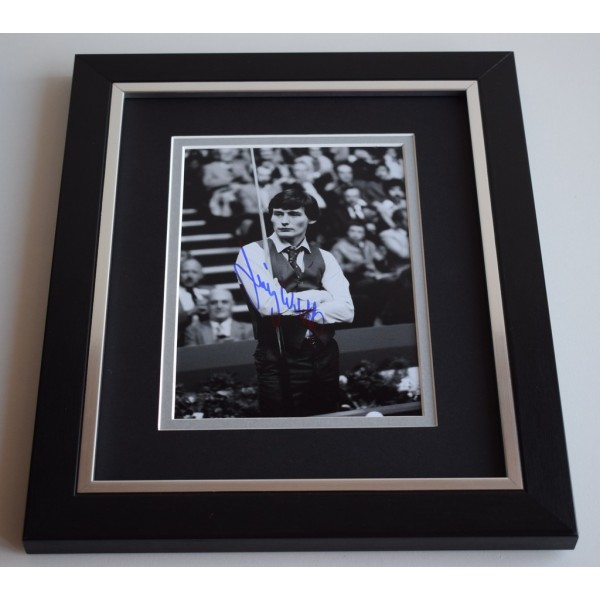 Jimmy White SIGNED 10X8 FRAMED Photo Autograph Snooker Display AFTAL & COA Memorabilia