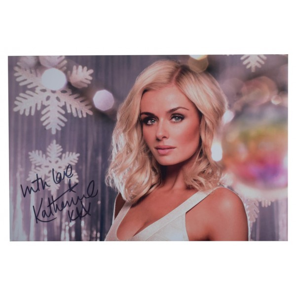 Katherine Jenkins SIGNED 12x8 Photo Autograph Opera Music   AFTAL  COA Memorabilia PERFECT GIFT