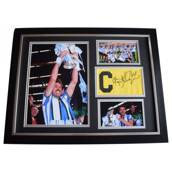 Brian Kilcline SIGNED FRAMED Armband & Photo Autograph 16x12 display Coventry  AFTAL  COA Memorabilia PERFECT GIFT
