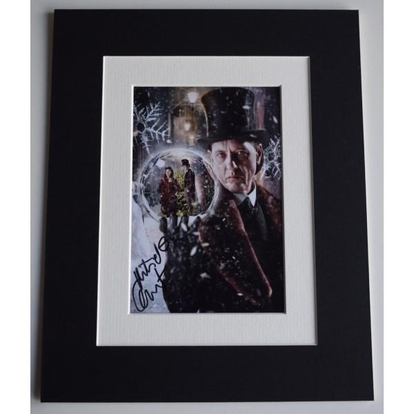 Richard E Grant Signed Autograph 10x8 photo mount display Doctor Who TV   AFTAL &  COA Memorabilia PERFECT GIFT