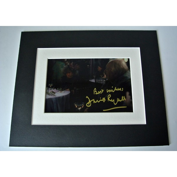 David Ryall Signed Autograph 10x8 photo display Harry Potter Film Elphias Doge  PERFECT GIFT