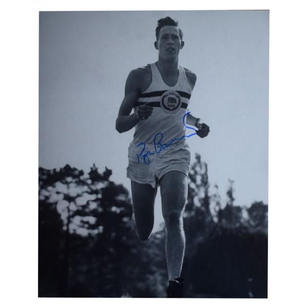 Roger Bannister SIGNED 10x8 Photo Autograph Four Minute Mile Athletics AFTAL  COA Memorabilia PERFECT GIFT