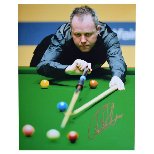 John Higgins SIGNED 10x8 Photo Autograph Snooker Sport  AFTAL  COA Memorabilia PERFECT GIFT