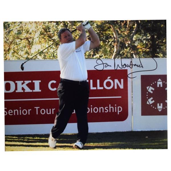 Ian Woosnam SIGNED 10x8 Photo Autograph Golf Sport  AFTAL  COA Memorabilia PERFECT GIFT