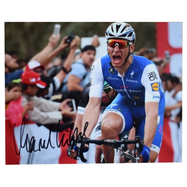 Marcel Kittel SIGNED 10x8 Photo Autograph Cycling Sport AFTAL  COA Memorabilia PERFECT GIFT