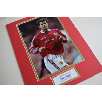 Ryan Giggs SIGNED autograph 16x12 photo display Manchester United AFTAL & COA AFTAL MEMORABILIA