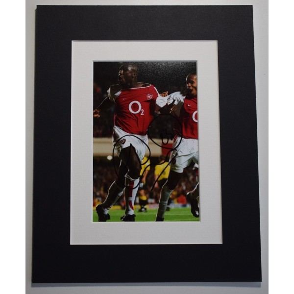 Sol Campbell Signed Autograph 10x8 photo display Arsenal Football AFTAL &  COA Memorabilia PERFECT GIFT