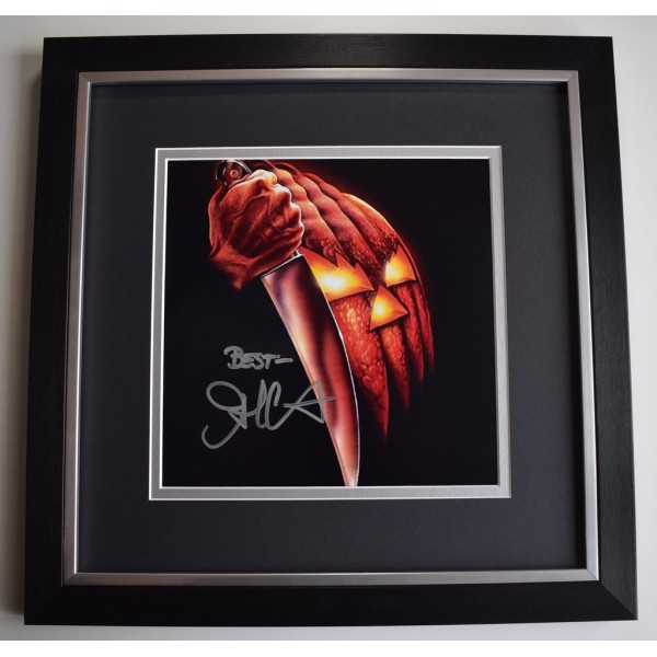 John Carpenter SIGNED Framed LARGE Square Photo Autograph display Halloween Film AFTAL &  COA Memorabilia PERFECT GIFT