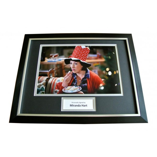 MIRANDA HART HAND SIGNED & FRAMED RARE AUTOGRAPH PHOTO MOUNT DISPLAY GIFT & COA   PERFECT GIFT