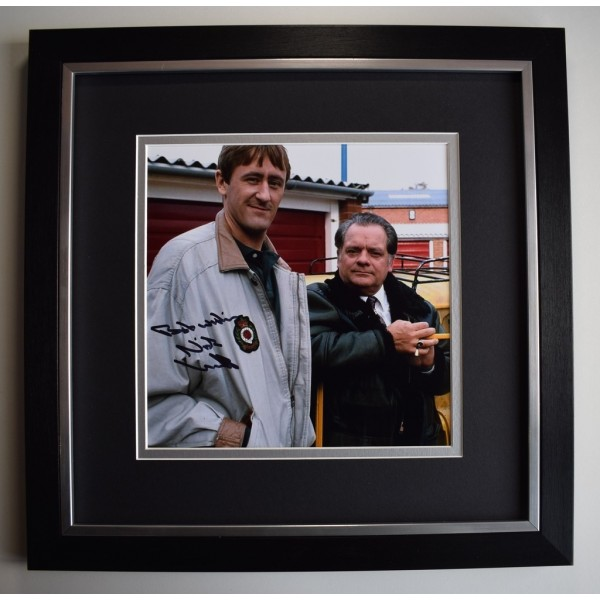 Nicholas Lyndhurst SIGNED Framed LARGE Square Photo Autograph display OFAH  AFTAL &  COA Memorabilia PERFECT GIFT