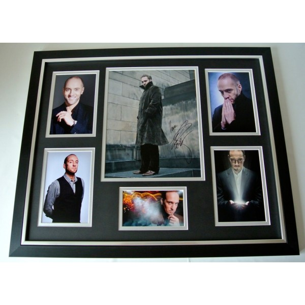Derren Brown SIGNED FRAMED Huge Photo Autograph display TV Magic Memorabilia COA    PERFECT GIFT