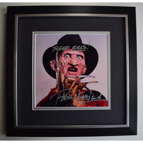 Robert Englund SIGNED Framed LARGE Square Photo Autograph display Freddy Krueger   AFTAL &  COA Memorabilia PERFECT GIFT