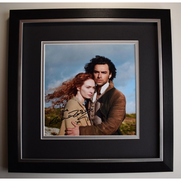 Eleanor Tomlinson SIGNED Framed LARGE Square Photo Autograph display Poldark  AFTAL &  COA Memorabilia PERFECT GIFT
