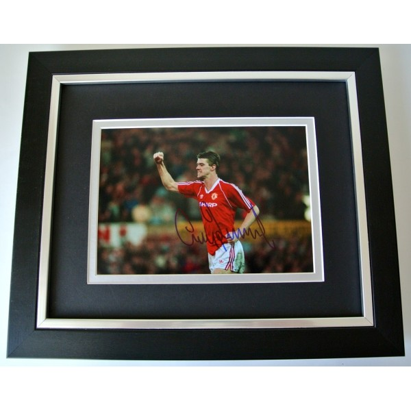 Gary Pallister SIGNED 10x8 FRAMED Photo Autograph Display Manchester United COA  PERFECT GIFT