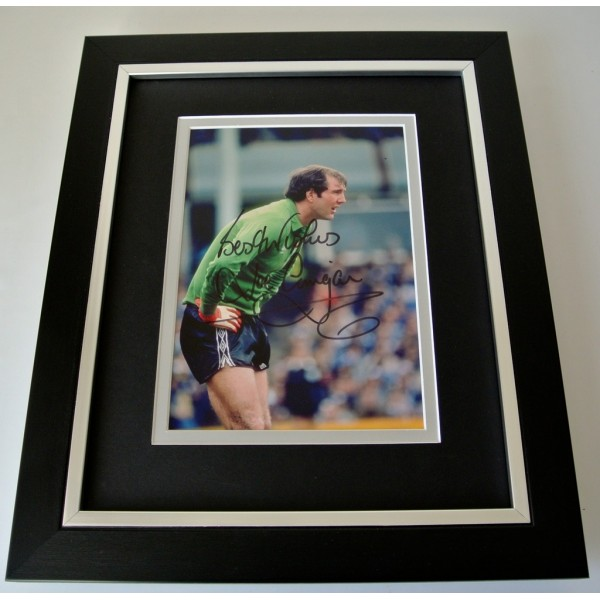 Joe Corrigan SIGNED 10x8 FRAMED Photo Autograph Display Manchester City & COA  PERFECT GIFT