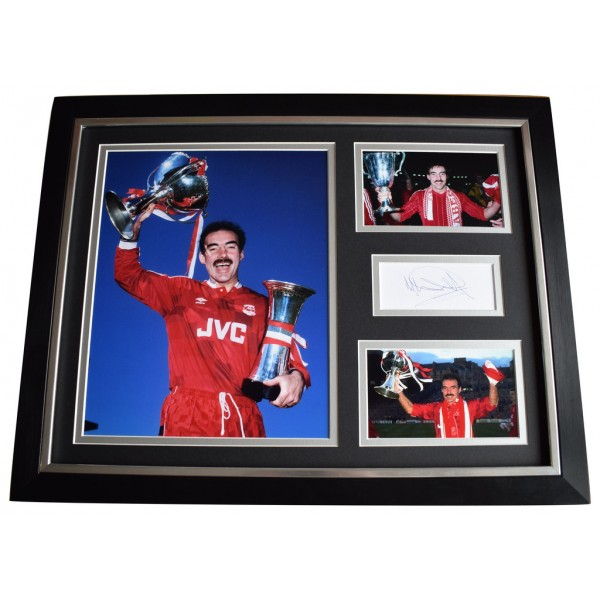 Willie Miller SIGNED FRAMED Photo Autograph 16x12 display Aberdeen Football   AFTAL  COA Memorabilia PERFECT GIFT