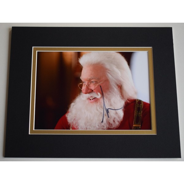 Tim Allen Signed Autograph 10x8 photo display Santa Clause Film  AFTAL &  COA Memorabilia PERFECT GIFT