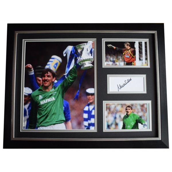 Neville Southall SIGNED FRAMED Photo Autograph 16x12 display Everton AFTAL  COA Memorabilia PERFECT GIFT