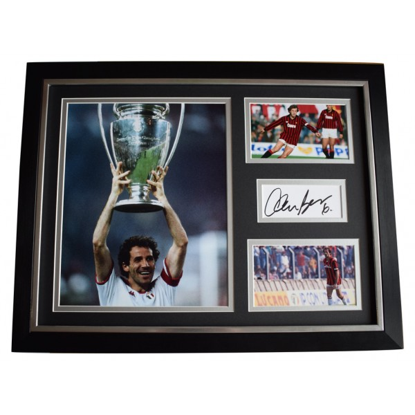 Franco Baresi SIGNED FRAMED Photo Autograph 16x12 display A.C. Milan  AFTAL  COA Memorabilia PERFECT GIFT