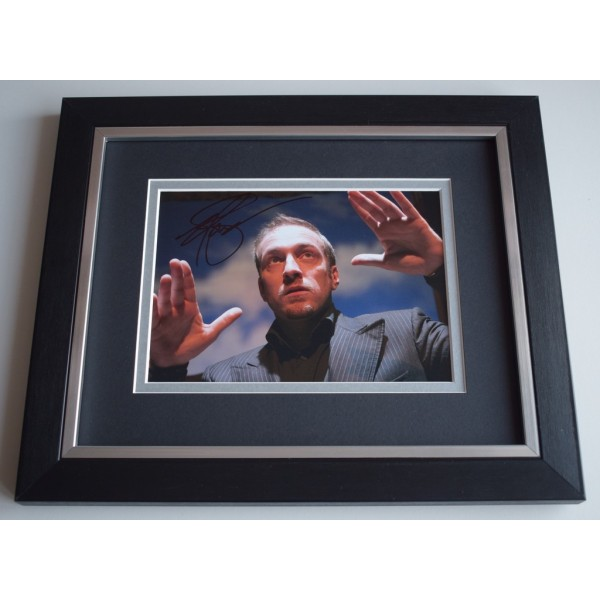 Derren Brown  SIGNED 10x8 FRAMED Photo Autograph Display TV Magic AFTAL &  COA Memorabilia PERFECT GIFT