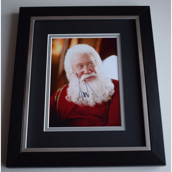 Tim Allen SIGNED 10x8 FRAMED Photo Autograph Display Santa Clause Film AFTAL &  COA Memorabilia PERFECT GIFT