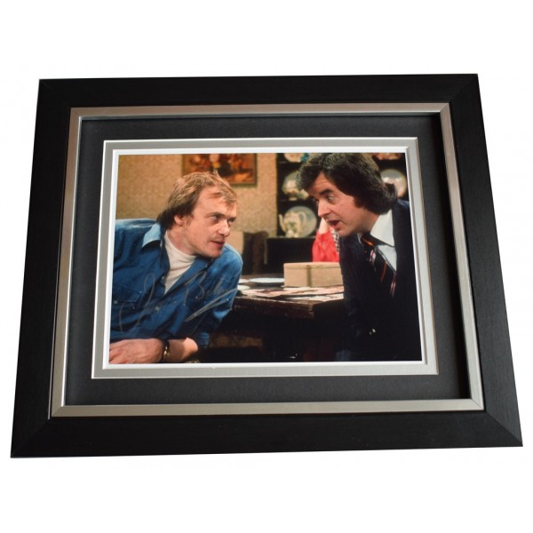 James Bolam SIGNED 10x8 FRAMED Photo Autograph Display the Likely Lads  AFTAL  COA Memorabilia PERFECT GIFT