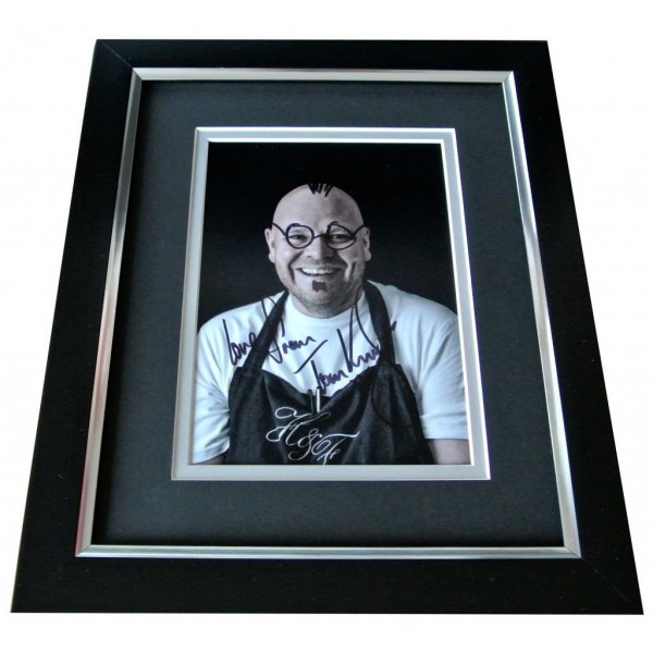 Tom Kerridge Signed 10x8 FRAMED Photo Autograph Display TV Chef Doodle Art & COA PERFECT GIFT