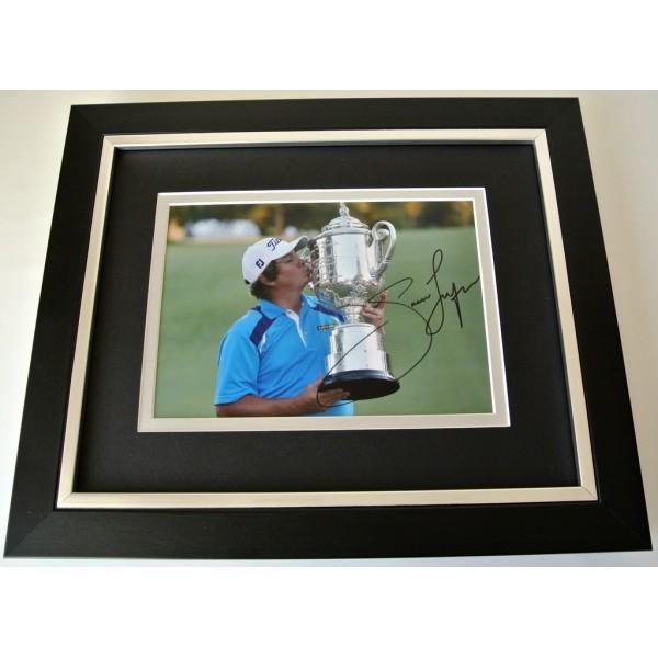 Jason Dufner SIGNED 10x8 FRAMED Photo Autograph Display Golf Open Sport & COA  CLEARANCE