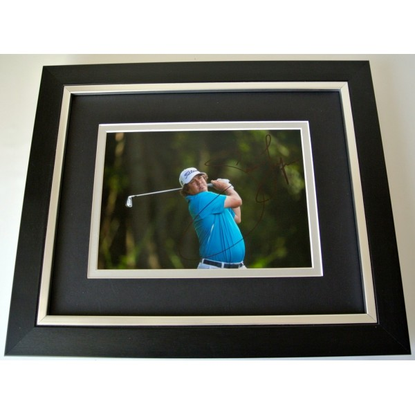 Jason Dufner SIGNED 10x8 FRAMED Photo Autograph Display Golf Open Sport & COA  PERFECT GIFT  CLEARANCE