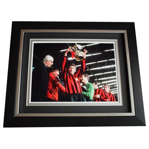 Tony Book SIGNED 10x8 FRAMED Photo Autograph Display Manchester City  AFTAL  COA Memorabilia PERFECT GIFT