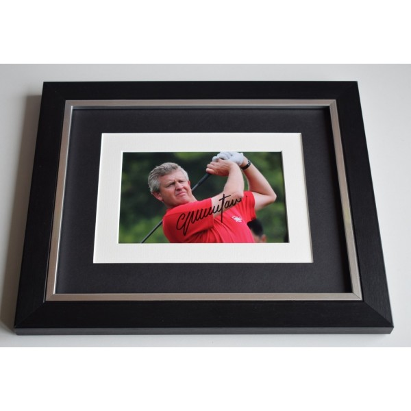 Colin Montgomerie SIGNED 10x8 FRAMED Photo Autograph Display Golf  AFTAL & COA Memorabilia PERFECT GIFT