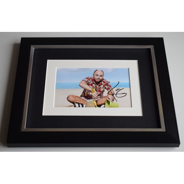 Karl Pilkington SIGNED 10x8 FRAMED Photo Autograph Display An Idiot Abroad AFTAL & COA Memorabilia PERFECT GIFT
