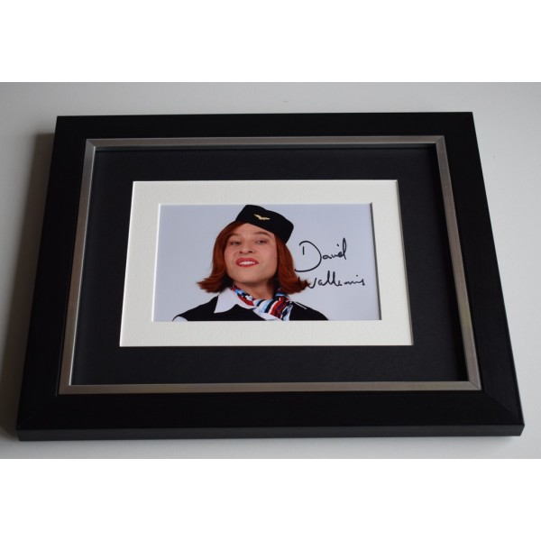 David Walliams SIGNED 10x8 FRAMED Photo Autograph Display Little Britain TV AFTAL & COA Memorabilia PERFECT GIFT