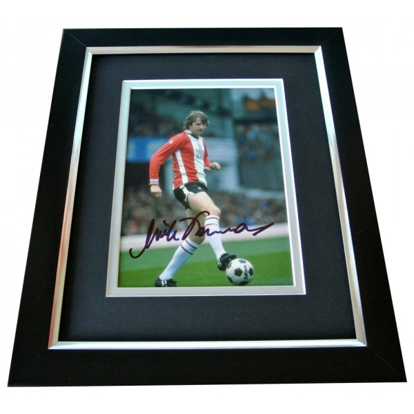 Mick Channon Signed 10x8 FRAMED Photo Autograph Display Southampton Football COA   PERFECT GIFT