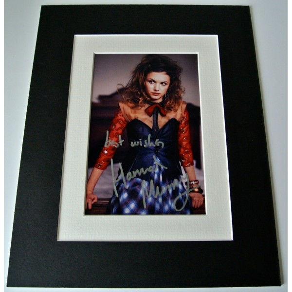 Hannah Murray Signed Autograph 10x8 photo mount display Game of Thrones TV & COA  CLEARANCE