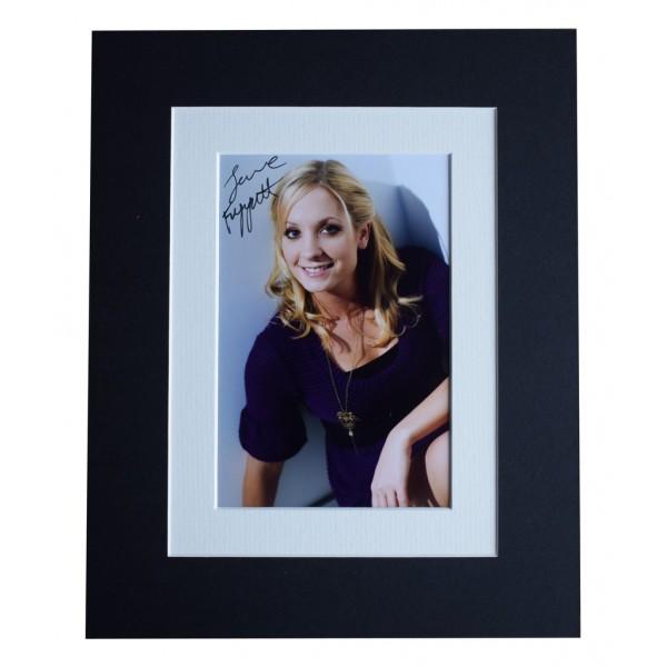 Joanne Froggatt Signed Autograph 10x8 photo display Downton Abbey TV AFTAL  COA Memorabilia PERFECT GIFT