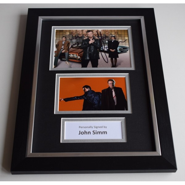 John Simm Signed A4 FRAMED photo Autograph display TV Life on Mars    AFTAL & COA Memorabilia PERFECT GIFT