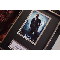 Aaron Eckhart SIGNED FRAMED Photo Autograph 16x12 display Film Dark Knight    AFTAL &  COA Memorabilia PERFECT GIFT