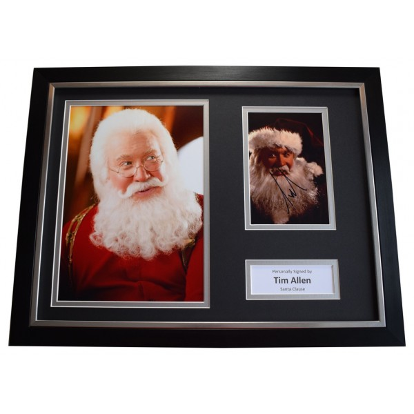Tim Allen SIGNED FRAMED Photo Autograph 16x12 display Santa Clause AFTAL &  COA Memorabilia PERFECT GIFT