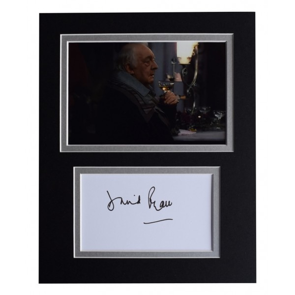 David Ryall Signed Autograph 10x8 photo display Harry Potter Film   AFTAL  COA Memorabilia PERFECT GIFT