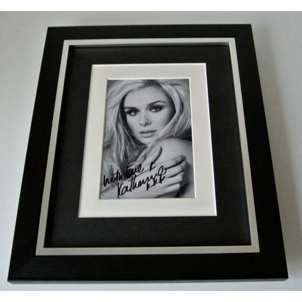 Katherine Jenkins SIGNED 10x8 FRAMED Photo Autograph Display Opera Music & COA  PERFECT GIFT