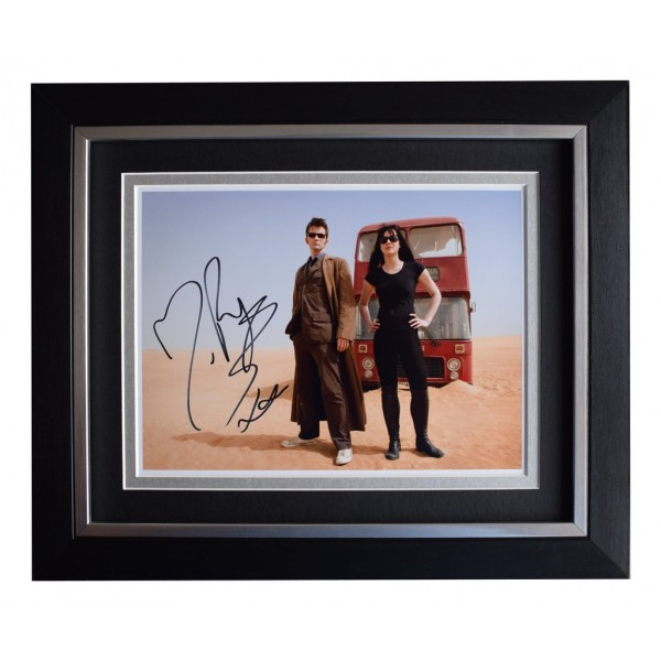 Michelle Ryan SIGNED 10x8 FRAMED Photo Autograph Display  Dr Who TV  AFTAL  COA Memorabilia PERFECT GIFT