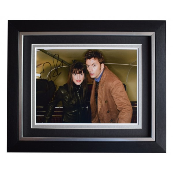 Michelle Ryan SIGNED 10x8 FRAMED Photo Autograph Display  Dr Who   AFTAL  COA Memorabilia PERFECT GIFT