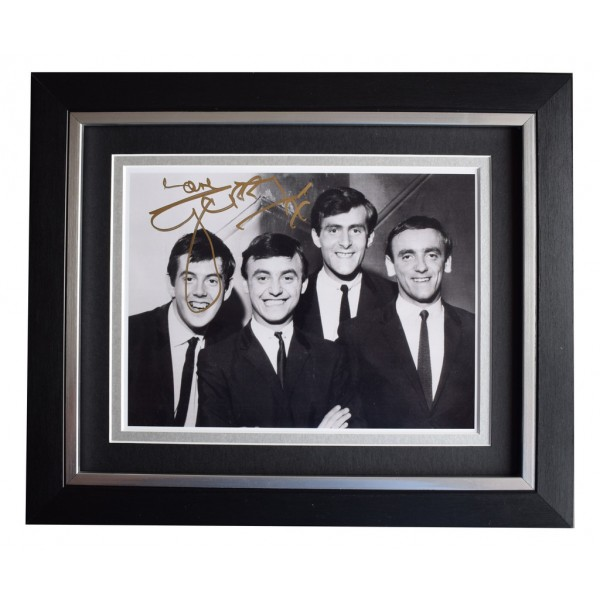 Gerry Marsden SIGNED 10x8 FRAMED Photo Autograph Display Music   AFTAL  COA Memorabilia PERFECT GIFT