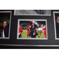 Rafa Benitez SIGNED Framed Photo Autograph Huge display Liverpool Football  AFTAL &  COA Memorabilia PERFECT GIFT
