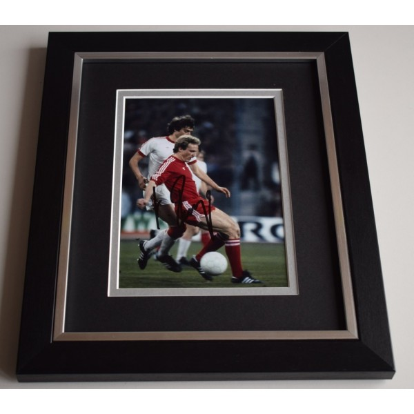 Karl Heinz Rummenigge SIGNED 10X8 FRAMED Photo Autograph Germany Football AFTAL & COA Memorabilia PERFECT GIFT